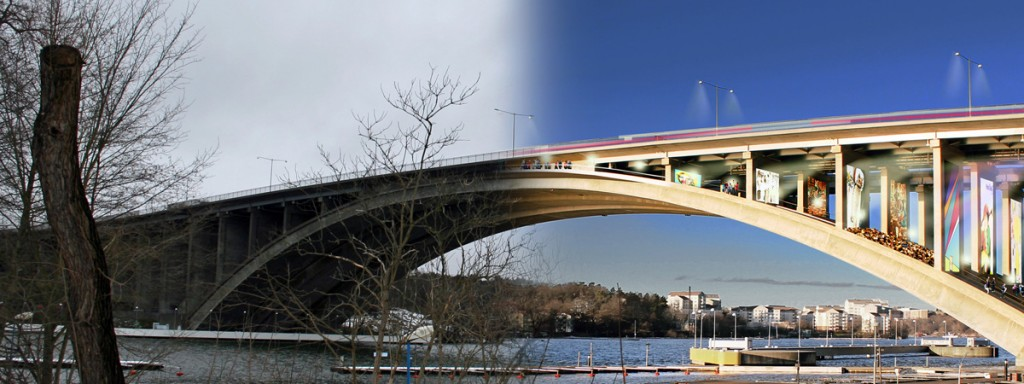Under the Bridge by Vision Division, to be featured in Reprogramming the City Stockholm