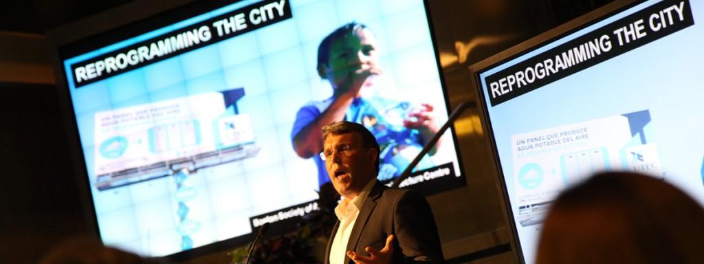 Reprogramming the City creator Scott Burnham addressing The World Bank, Washington DC | September 2014
