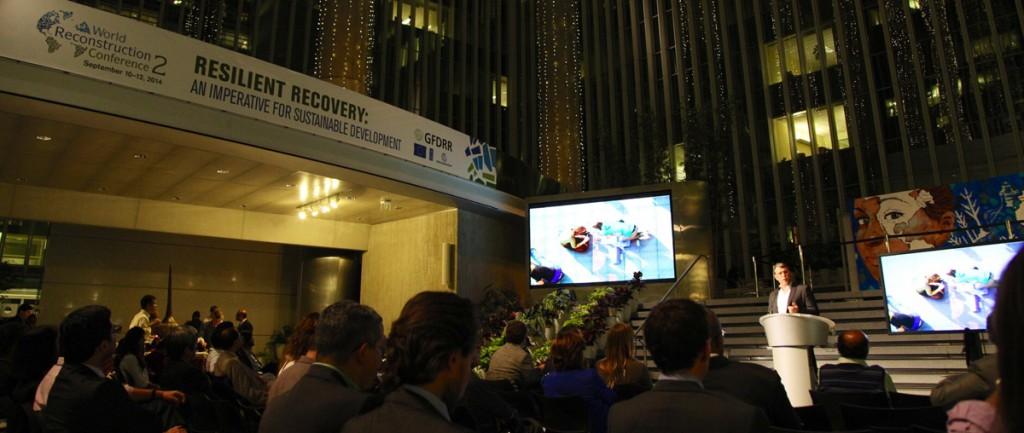 Reprogramming the City creator Scott Burnham addressing The World Bank, Washington DC