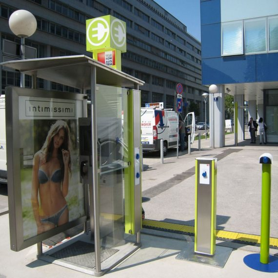 Converting Disused Phone Booths into EV Charging Stations