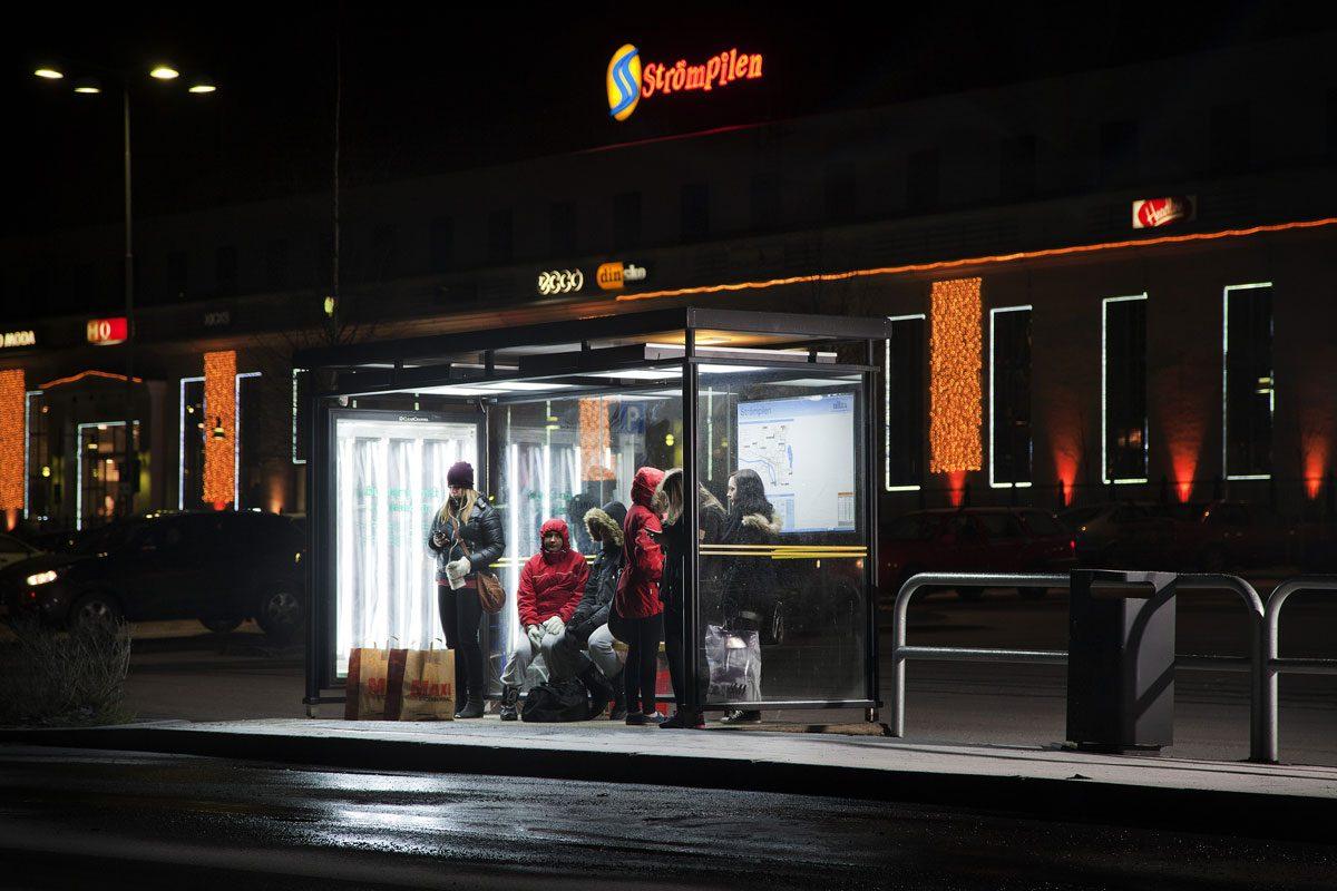 Reprogramming Bus Stops to Improve Mental Health